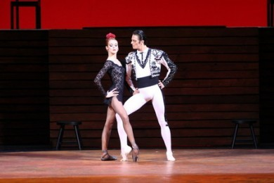 Evening of one-act ballets: Carmen Suite. Marguerite and Armand.