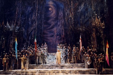 "Richard Wagner ""Lohengrin"" romantic opera in three acts (revival of the 1999 production)"
