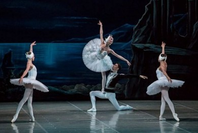 "Pyotr Tchaikovsky ""Swan Lake"" fantasy ballet in three acts (four scenes)"